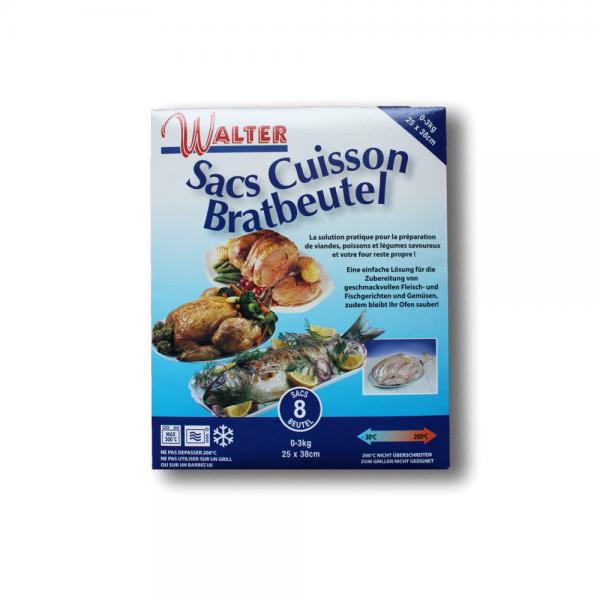 Walter - Sacs Cuisson Bratbeutel, 25 x 38 cm